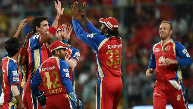 Royal Challengers Bangalore became the third team to have played 100 matches in IPL © PTI