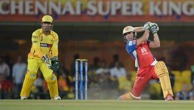 AB de Villiers was praised by his captain for his brief cameo © IANS