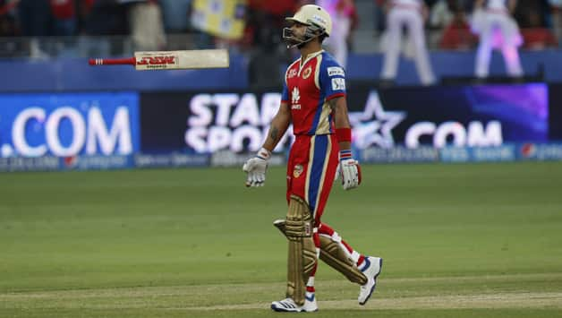 Virat Kohli-led Royal Challengers won only two of their games during UAE-leg of IPL 7 © IANS