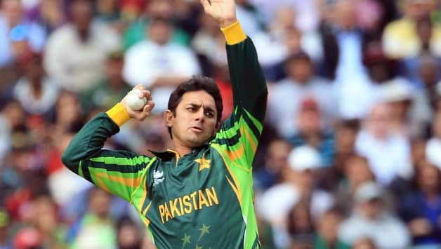 Saeed Ajmal's action has been recently questioned by a few cricketers; former and present © Getty Images