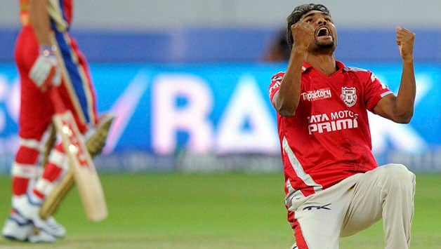 Sandeep Sharma has won back-to-back Man of the Match awards for Punjab © PTI