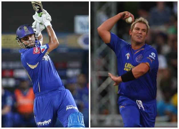 Shane Warne and Rahul Dravid constantly motivated their team © IANS