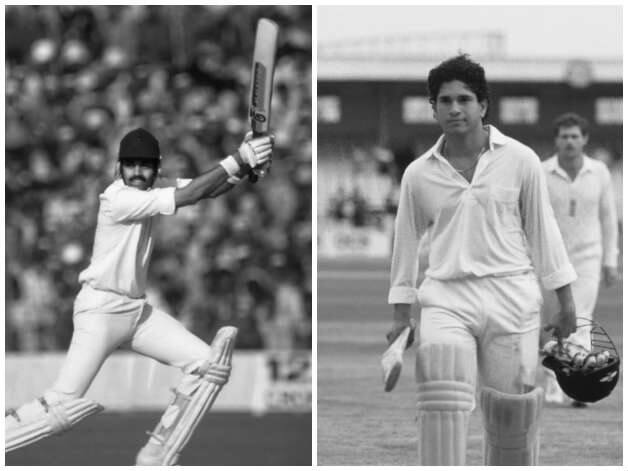 Dilip Vengsarkar (left) and Sachin Tendulkar combined to propel Bombay towards achieving the impossible © Getty Images (File Photo)