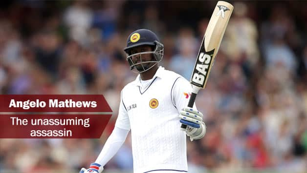 Angelo Mathews © Getty Images