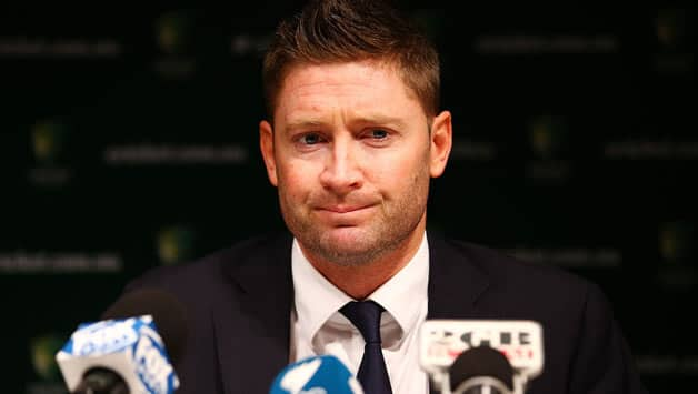 Michael Clarke however remained tight-lipped on he would deal with such an incident © Getty Images