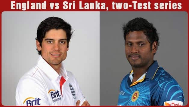 Alastair Cook (left) and Angelo Mathews © Getty Images