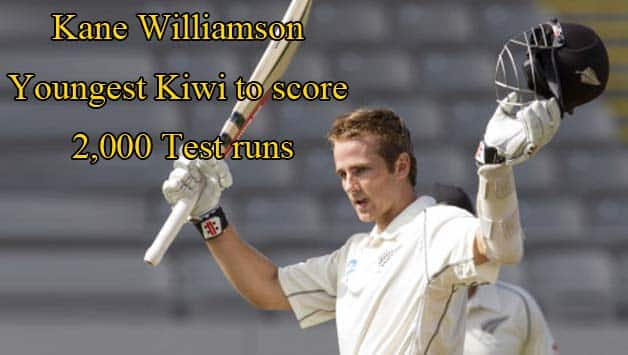 Kane Williamson is also the 10th youngest overall to score 2,000 Test runs © Getty Images