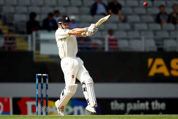 Kane-Williamson-of-New-Zealand-bats-during-day-one-of-th