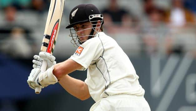 Kane-Williamson-of-New-Zealand-bats-during-day-one-of-the-First-Test-match-betw