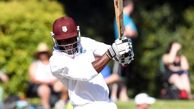 Kirk-Edwards-of-the-West-Indies-bats-during-day-three-of-the-first-test-match-between-New