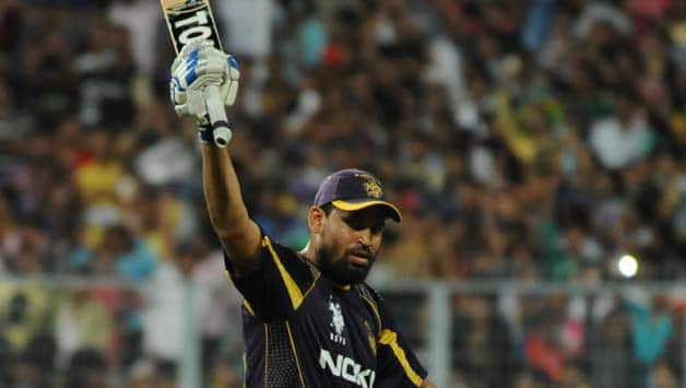 Yusuf Pathan essayed a crucial knock against SRH in IPL 7 © IANS (File Photo0