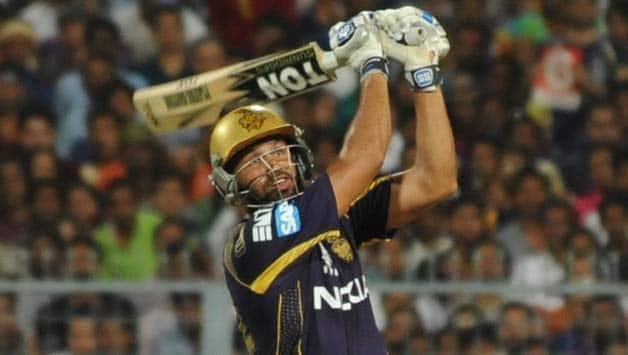 Yusuf Pathan hit 36 in the IPL 2014 final against Kings XI Punjab © IANS