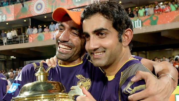 Gautam Gambhir (right) is only the second captain to win two IPL titles © IANS