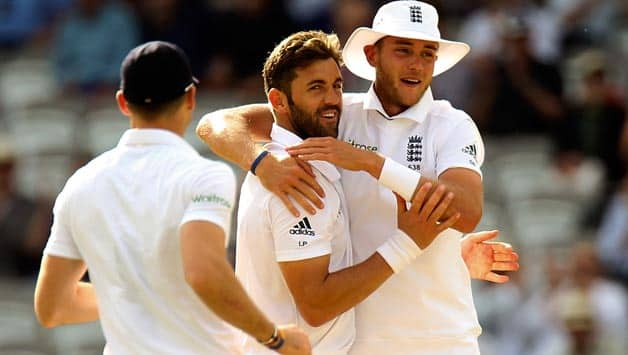 The pace trio of (from left) James Anderson, Liam Plunkett and Stuart Broad destroyed the Sri Lankan batting unit © Getty Images (File Photo)