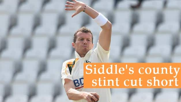 Peter Siddle is currently the leading wicket-taker for Nottinghamshire © Getty Images