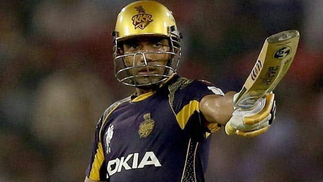 Robin Uthappa's form for KKR in IPL 2014 has also seen him being recalled into the Indian squad for the tour of Bangladesh © PTI