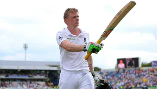 Sam Robson scored his maiden century on Day Two © Getty Images