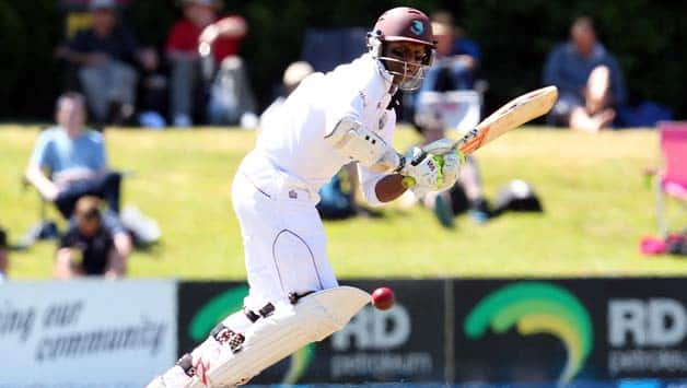 Shivnarine Chanderpaul looked in good touch for West Indies © Getty Images