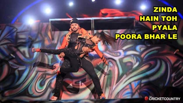 S Sreesanth said Jhalak Dikhhla Jaa is chance for him to get back on track. Photo Courtesy - Colors TV.