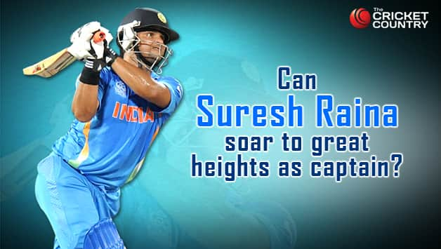 Suresh Raina will look to show his worth as captain against Bangladesh © Getty Images