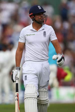 Alastair Cook was given a rousing ovation from the spectators at Ageas Bowl and also applauded despite Alastair Cook missing out on a well-deserved ton © Getty Images