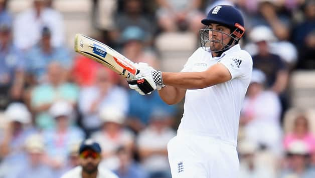 Alastair Cook survived a nervy start but went on to score some valuable runs © Getty Images