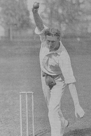 Bart King (above) was hailed by Sir Don Bradman as the greatest cricketing son of America. Photo Courtesy: WIkipedia