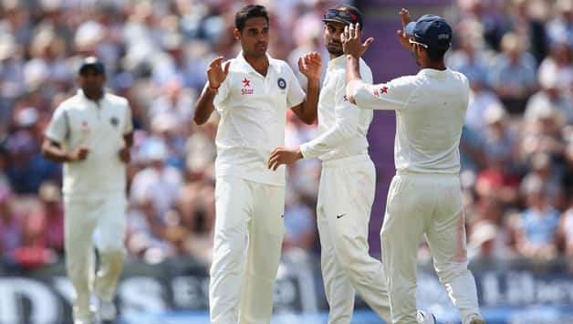 It was a tiring day for Indian bowlers as England piled on runs and the fielders dropped  a few chances © Getty Images