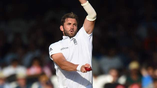 England-bowler-Liam-Plunkett-in-action