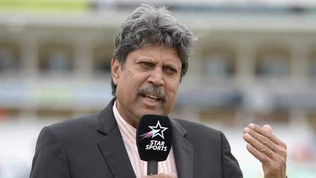 Kapil Dev is in Lord's to do commentary for Star Sports © Getty Images