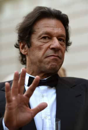 At present Imran Khan is the chief of political party Tehreek-i-Insaf © Getty Image