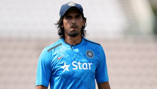 Ishant Sharma was ruled out of the 3rd Test © Getty Images