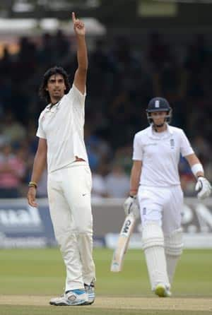 Ishant Sharma picked seven wickets from the Pavilion End © Getty Images
