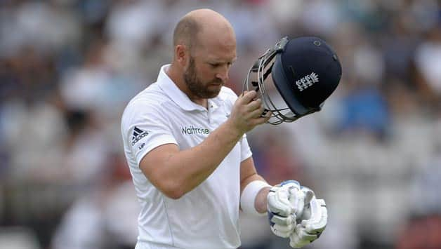Matt-Prior-of-England-leaves-the-field-after-being-dismissed-by-Ishant-Sharma2