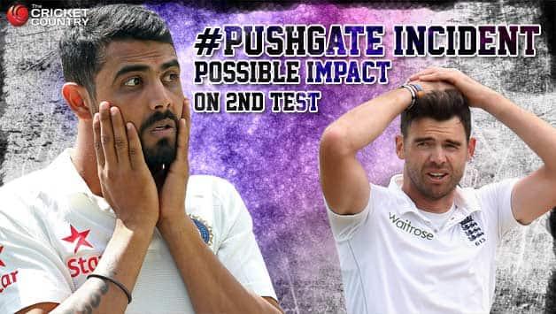 James Anderson-Ravindra Jadeja 'Pushgate' incident: Possible impact on India vs England, 2nd Test at Lord's