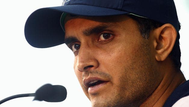 Sourav Ganguly is all set to © Getty Images
