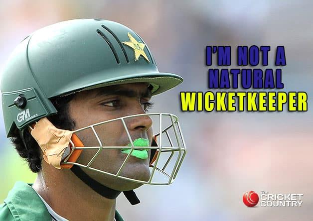 Umar Akmal: I'm not a natural wicketkeeper