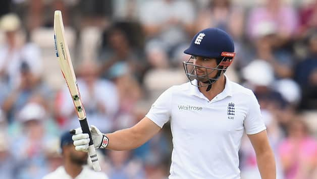 Alastair Cook narrowly missed out on his ton © Getty Images