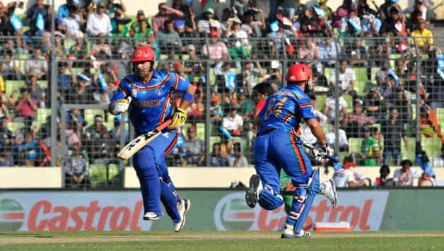 Afghanistan are scoring at a slow rate of 2.56 runs per over © IANS