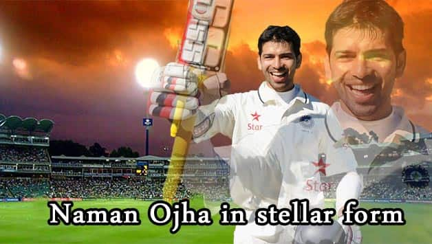 Naman Ojha has been in superb form against Australia A © Getty Images