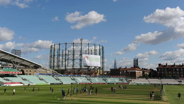 A-General-view-of-the-Kia-Oval-during-an-Australian-Nets-Session-at-The-Kia-Oval
