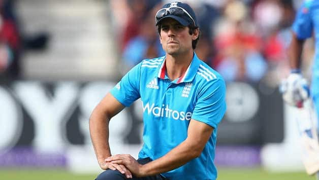 Alastair-Cook-the-captain-of-England-shows-his-frustration-as-Suresh-Raina-and-Ambati-Rayudu1