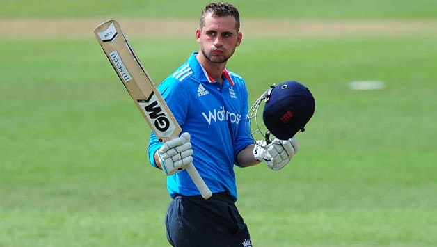 Alex Hales will finally make his ODI debut after the first was abandoned without a ball bowled due to rain © Getty Images