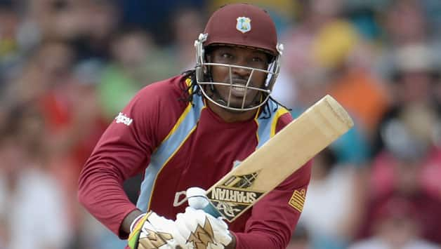 Chris Gayle averages just © Getty Images