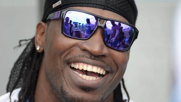 Chris-Gayle-of-the-West-Indies-smiles-during-a-nets-session-at-Kensington-Oval-on-Ma