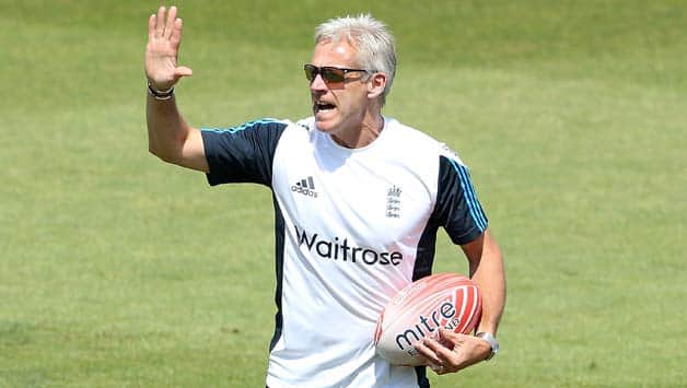 Peter Moores got a successful start to his second stint as England coach with a 3-1 series win over India © Getty Images