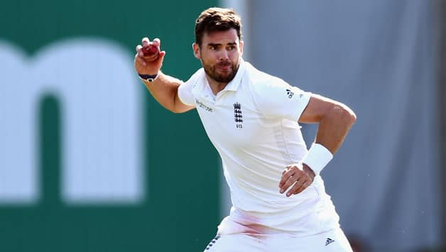 James Anderson is just eight wickets away from surpassing Ian Botham's record of highest Test wickets for England © Getty Images