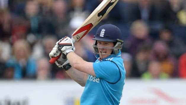 Eoin Morgan is one of England's most aggressive middle-order batsmen © Getty Images