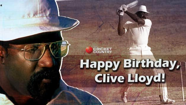 """Clive Lloyd was known as """"Supercat"""" © Getty Images"""