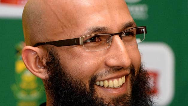 Hashim Amla scored a century in the first ODI against Zimbabwe © Getty Images
